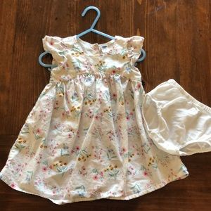Old Navy Floral dress with bloomers.